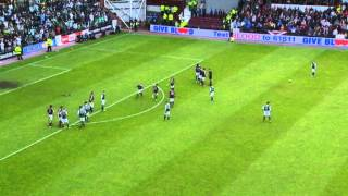 Brilliant Leigh Griffiths Goal, Hearts 1-2 Hibernian, 12/05/2013 thumbnail