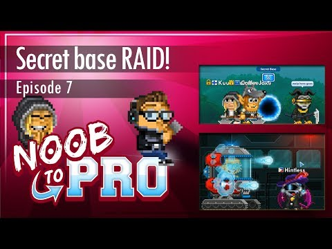Secret Base RAID! - Supeheroes [Part 2] - Noob To Pro