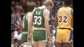LA Lakers vs Boston Celtics Highlights! (NBA Finals 1987)