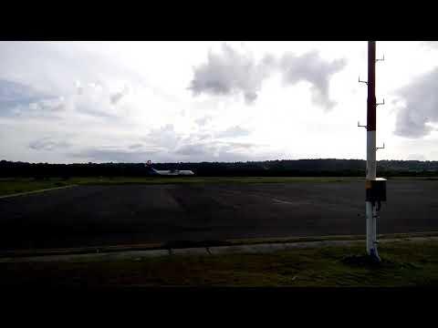 Sesuai Jadwal Pesawat Garuda Terbang Perdana Rute Makassar-Selayar