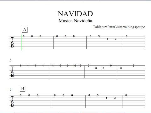Baixar tablaturas para guitarra download tablaturas para - Blanca navidad partitura ...