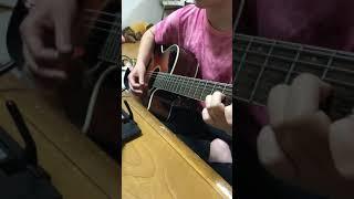 高1ギター女子 逢いたい理由/AAA 練習中