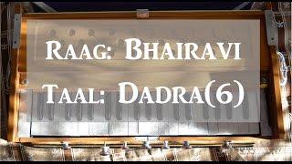 Learn Lehra - Raag Bhairavi, Taal Dadra