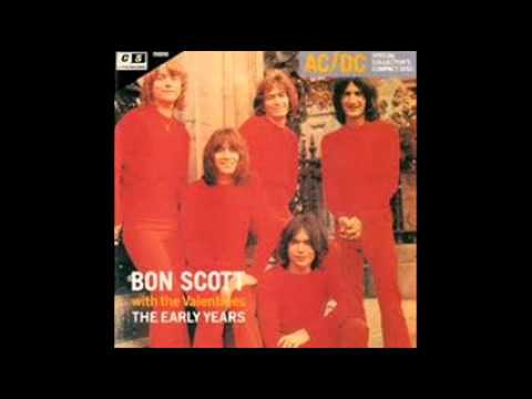 Bon Scott with the Valentines - Love Makes Sweet Music (The Early Years 1966 - 1970)