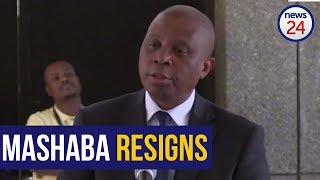 WATCH   'It is not in my nature to wait for people to push me' - Mashaba on resignation