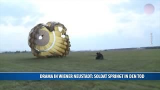 Drama in Wiener Neustadt: Soldat springt in den Tod