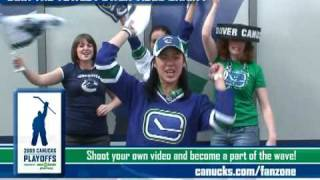 Canucks Towel Power Video Chain  instructional video