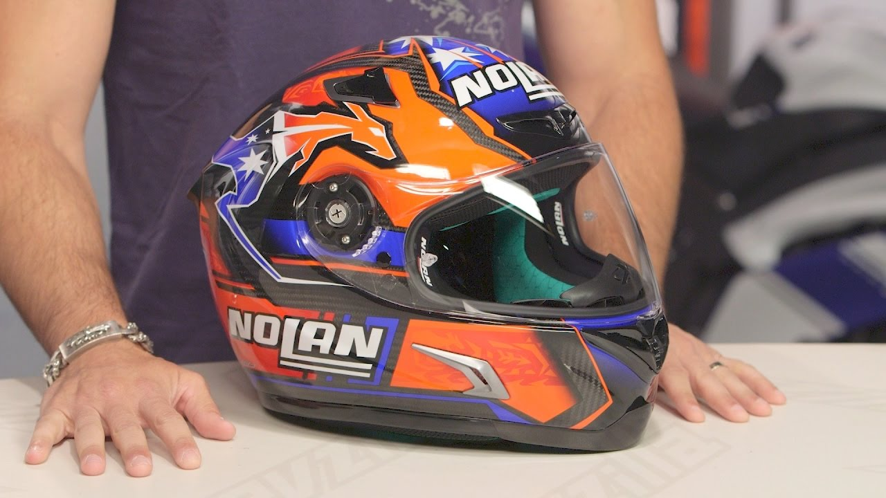 Nolan X-lite X Lite X 802rr Ultra Carbon Nolan Stoner Replica Helmet Review At Revzilla