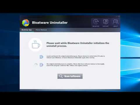 Uninstall HP Support Solutions Framework – Bloatware Remover