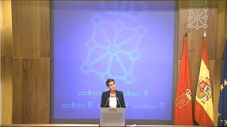 Navarra limita las reuniones públicas y privadas a seis personas