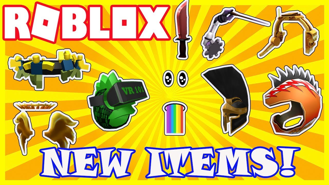 New Items New Items In The Catalog Roblox Toy Items For New