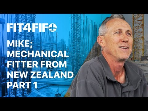 Ep.#7 Mike; Mechanical Fitter from New Zealand Part 1