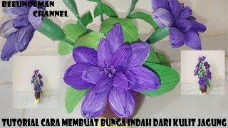 Gambar Bunga Dari Kulit Jagung Koleksi Gambar Bunga