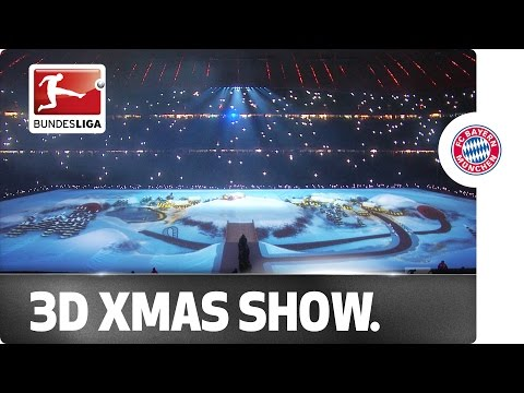 Top at Christmas - Bayern Celebrate with 3D Lights Show
