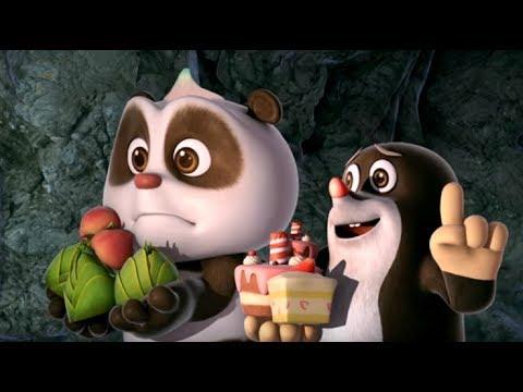 Кротик и Панда  - сборник - Все страшилки Кротика и Панды -  развивающий мультфильм - Видео онлайн