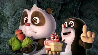 Кротик и Панда  - сборник - Все страшилки Кротика и Панды -  развивающий мультфильм