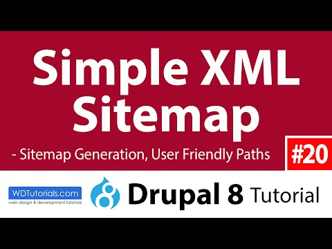 Drupal 8 - How To Add Sitemap With Simple XML Sitemap Module