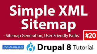 Drupal 8 - How To Add Sitemap With Simple XML Sitemap Module Mp3