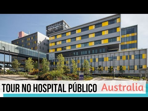 Tour Pelo Hospital Público Em Sydney Austrália