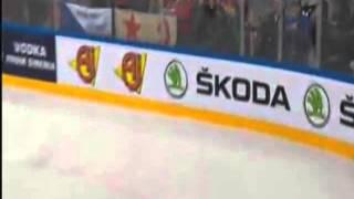 Канада 5:0 Россия -  Клод Жиру (пятый гол, третий период) 17.05.2015