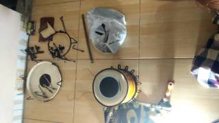 Buat tabla made in CAK MALIK kendang jandhut asoy