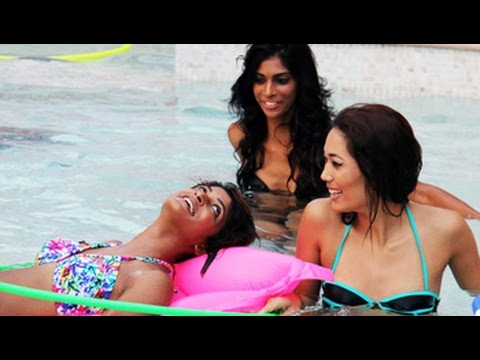 Kingfisher Supermodels 3: Models Make Confessions In A Swimming Pool
