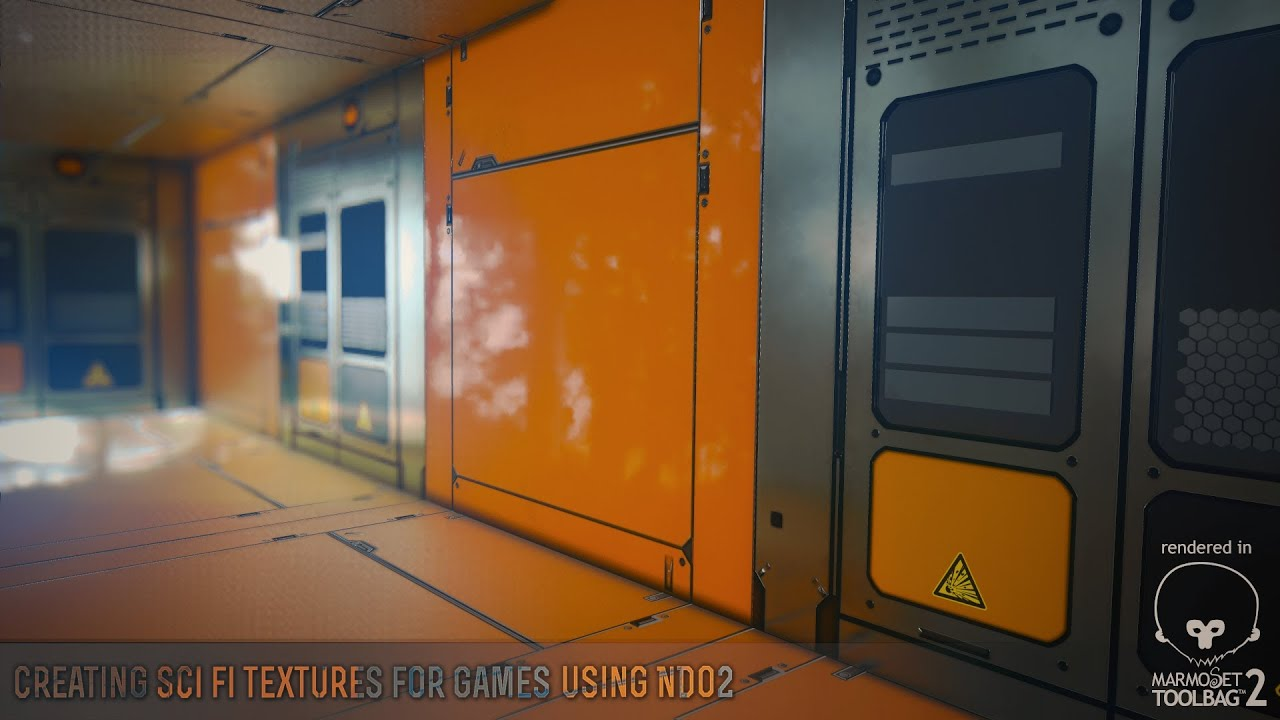 Creating Sci Fi Textures Using nDo2 Part 1  YouTube