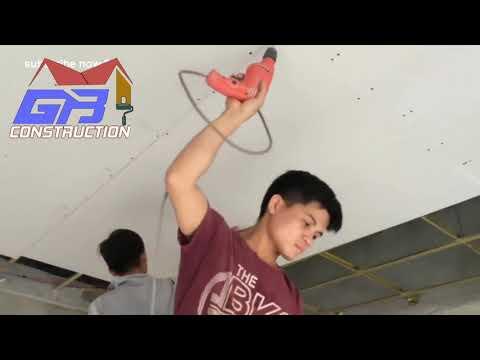 Dịch vụ thi công trần,vách ngăn thạch cao - SuachuaGiaBao