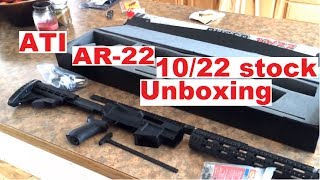 """THE NEW ATI """"AR-22"""" Ruger 10/22 TACTICAL stock"""