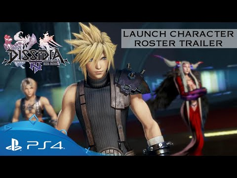Dissidia Final Fantasy NT | Character Roster | PS4