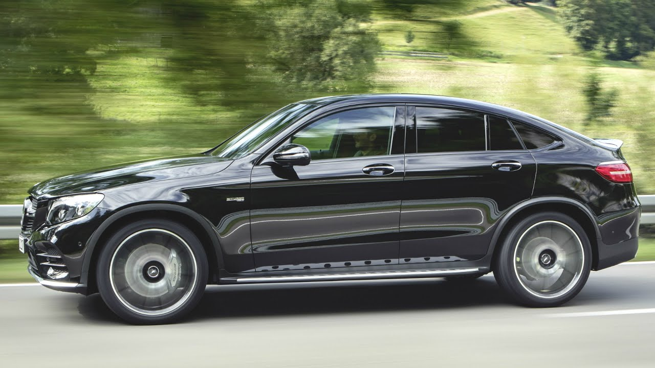 2017 Mercedes GLC43 AMG 4MATIC Coupe 367HP - Drive and Design - YouTube