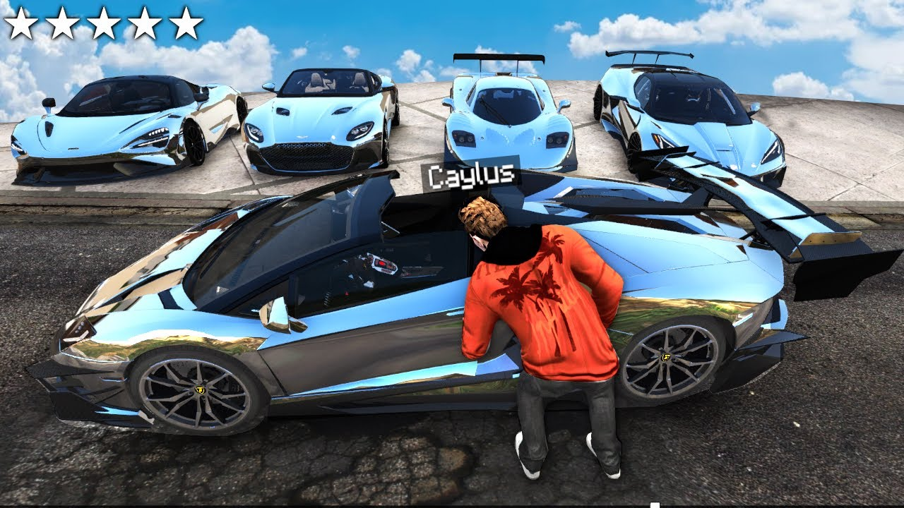 100 BEST Ways To STEAL SUPER CARS In GTA 5 RP!