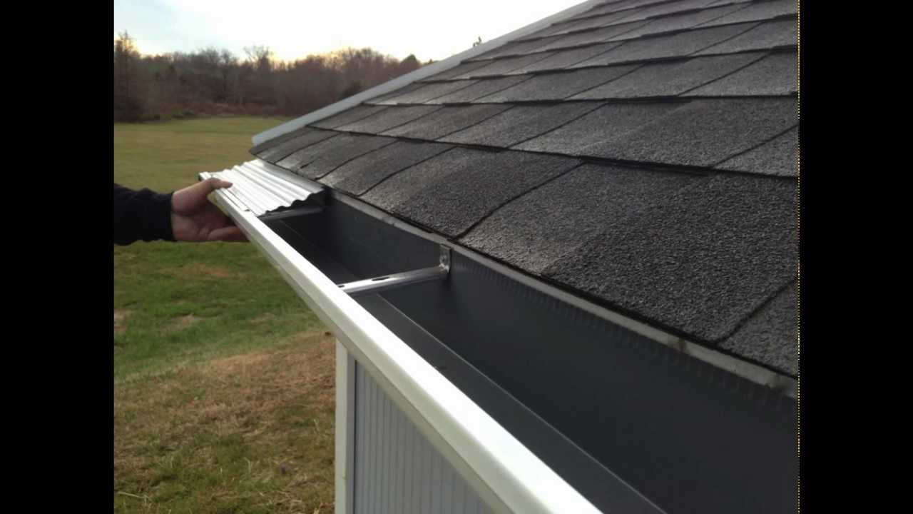 Xtreme Gutter Guard Bracket Mount Installation Youtube