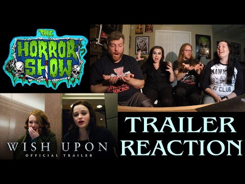 """Wish Upon"" 2017 Horror Movie Trailer Reaction – The Horror Show"