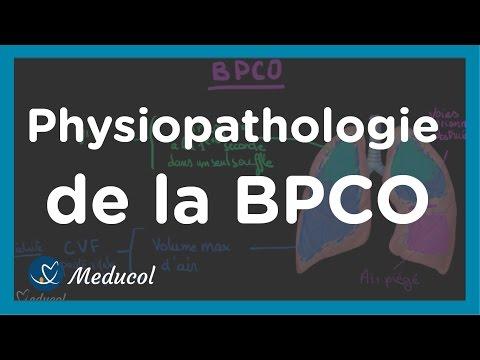 bronchopneumopathie chronique obstructive respiration sifflante dysphonie