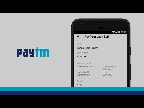 How to Pay your Loan EMI using Paytm App?