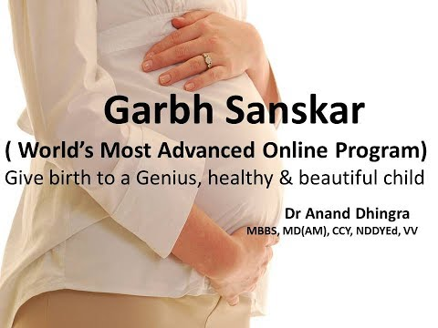 Garbh Sanskar Introduction For Genius Baby in Hindi