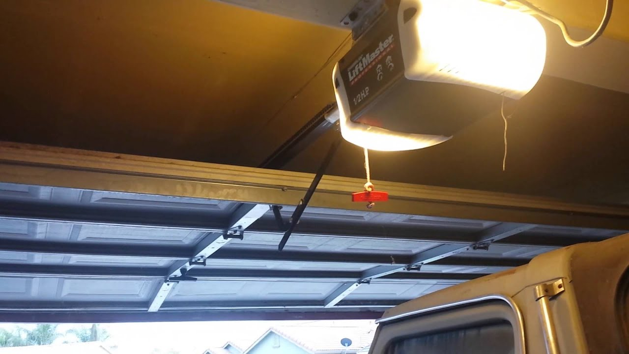 LiftmasterChamberlain Garage door opener problem  YouTube