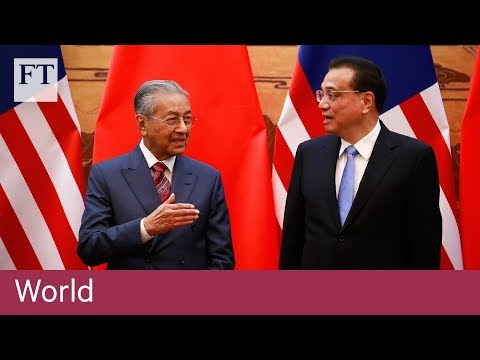 Mahathir warns China against 'new version of colonialism'