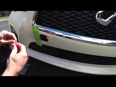 Tow Hook License Plate Holder DIY Fix | Auto Fanatic
