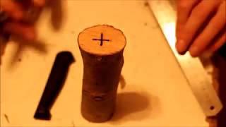 как сделать рукоятку для ножа в домашних условиях