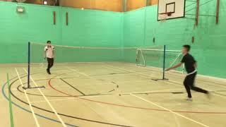 Sam Kyle badminton