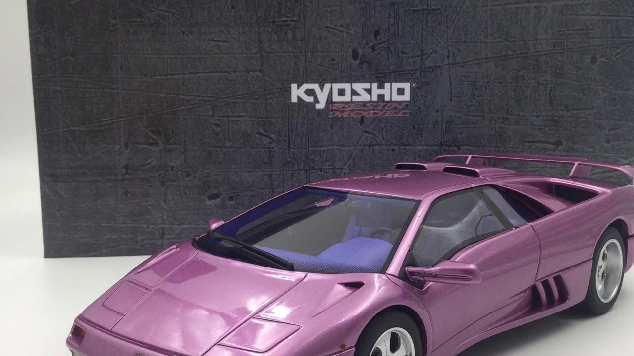 Kyosho 1 18 Lamborghini Diablo Se30 Jota Ksr18501v Youtube