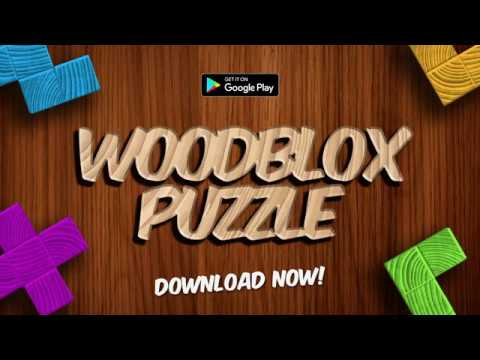 Woodblox Block Puzzle Game Trailer