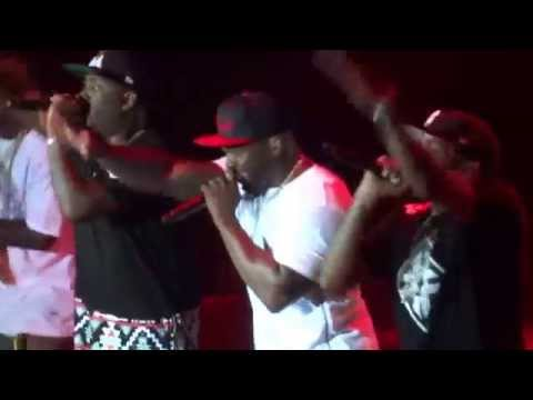 50 Cent & G-Unit Hate It Or Love It Live o2 Arena London 2015