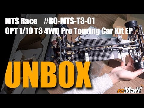 MTS Race OPT 1/10 T3 4WD Pro Touring Car Kit EP Unbox!