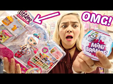 REAL LITTLES! Searching Target For Real Littles & Mini Brands (AGAIN)