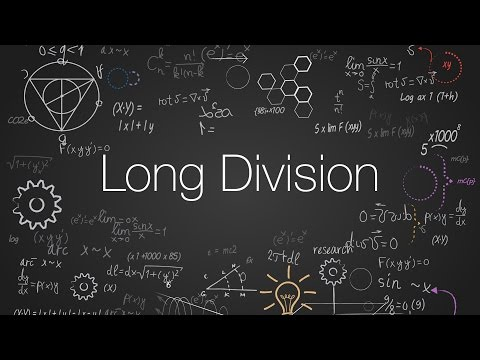 Mathematics Part 1: Long Division