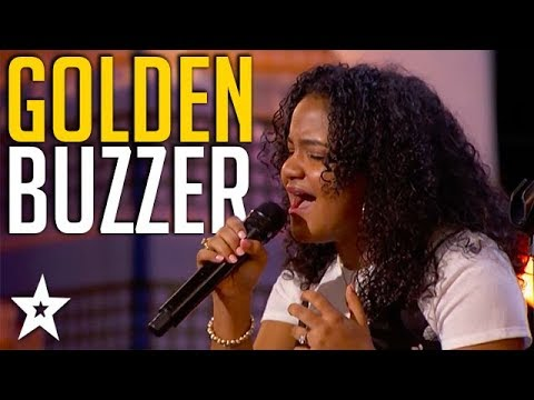 Amazing Singer Gets Mel B's GOLDEN BUZZER on America's Got Talent | Got Talent Global