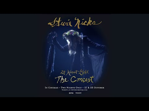 Stevie Nicks 24 Karat Gold The Concert | Official Trailer | In Cinemas October 21 & 25